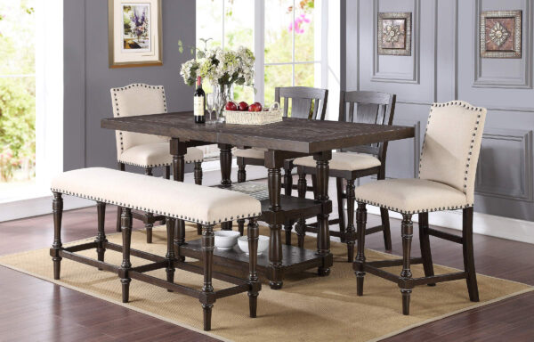 Excalibar Dark Dining Room Collection