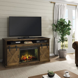 Farmhouse Home Entertainment Center