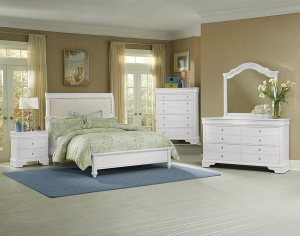 French Market White Bedroom Collection