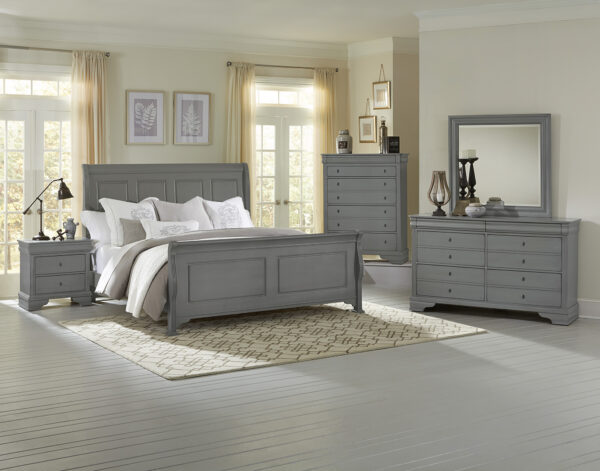 French Market Zinc Bedroom Collection