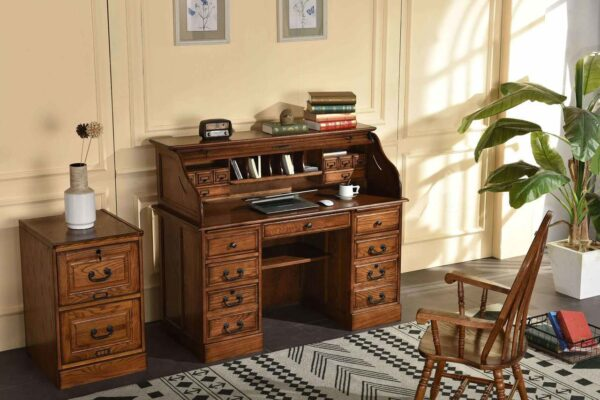 Heritage Rolltop Home Office Collection