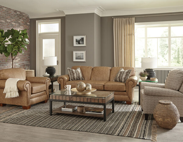 Leah Leather Sofa Collection