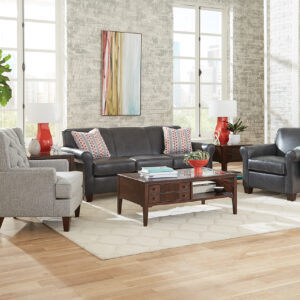 Lilly Leather Sofa Collection
