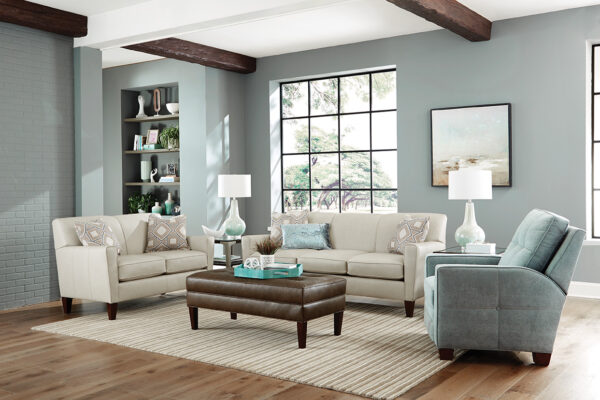 Lynette Leather Sofa Collection