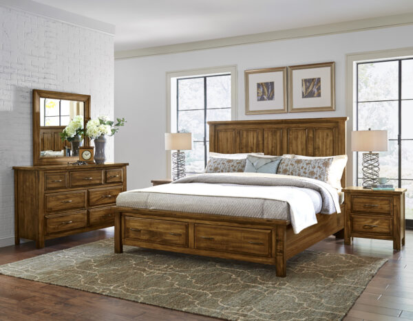 Maple Road Antique Bedroom Collection
