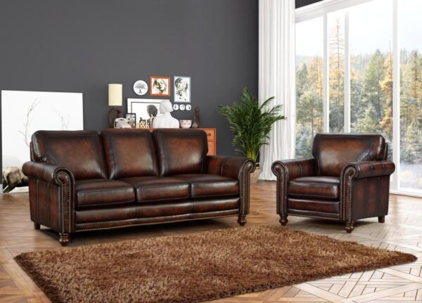 Michael Leather Sofa Collection