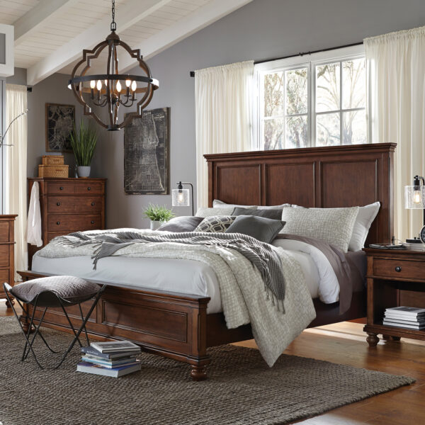 Oxford Whiskey Brown Bedroom Collection