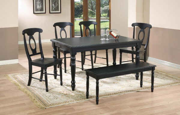 Quails Black Dining Room Collection