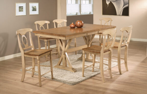 Quails Run Almond Dining Room Collection