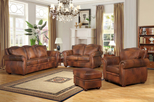 Zona Leather Sofa Collection