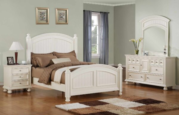 Cape Cod Eggshell Bedroom Collection