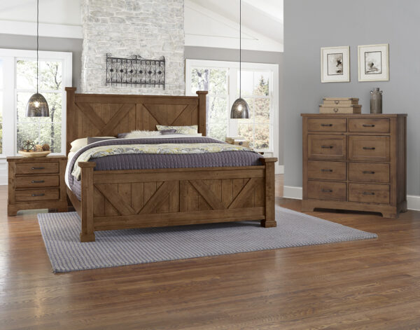 Cool Rustic Amber Bedroom Collection