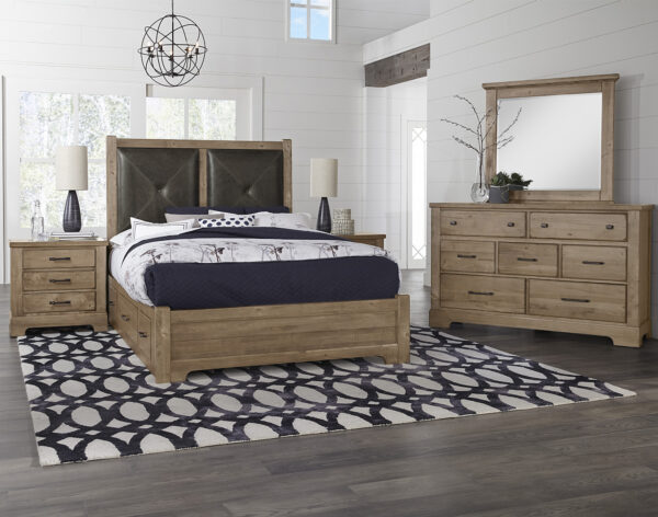 Cool Rustic Natural Bedroom Collection