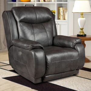 The Gun Metal Recliner
