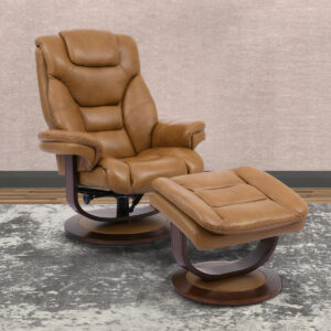The Stressless Butterscotch Recliner