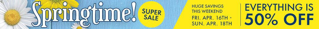 Monarch Furniture's Mid-Winter Super Sale - Everything is 50% off